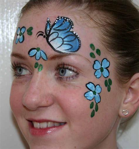 flower makeup painting simple painting flowers makeup idea