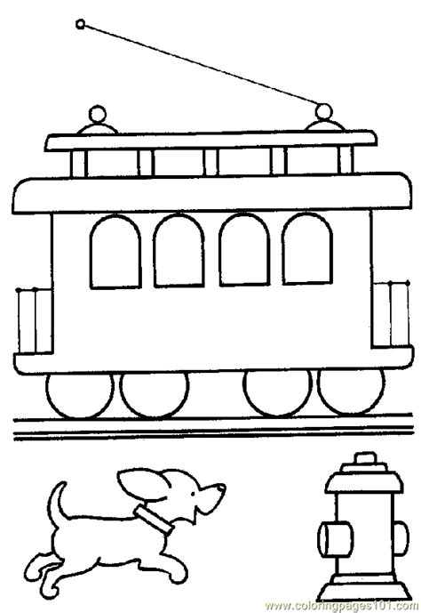 coloring page train caboose coloring pages train coloring page 02 transport gt land