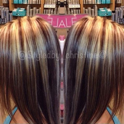 highlights and lowlights for brunettes highlights lowlights hair blonde brown brunette