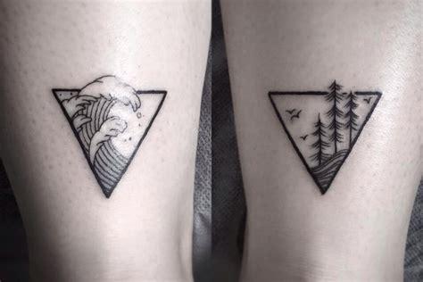 geometric tattoo friendship tattoos f 252 r abenteurer 16 besten f 252 r freigeister