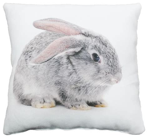 coussin motif baby pets coussin 30x30cm motif lapin contemporary scatter cushions by alin 233 a mobilier d 233 co