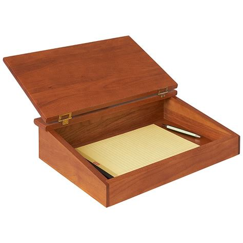 Lap Desk   Writing Lap Tray With Storage   Manchester Wood