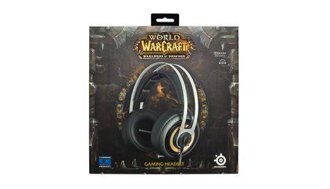 Headset Gaming Steelseries Siberia Elite World Of Warcraft Edition Gam steelseries announces the new siberia elite world of warcraft edition headset gamer assault weekly