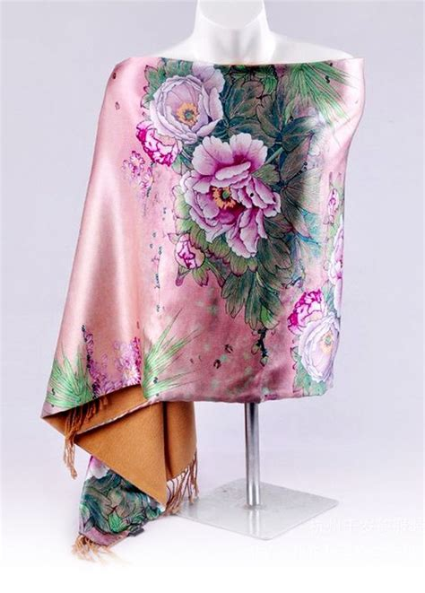 Zxc20 Square Flowery Satin Silk 55 17 best images about silk shops on shawl for and square scarf