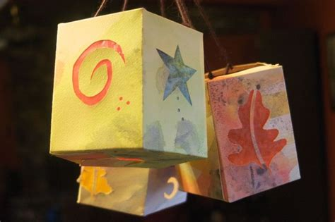 How To Make Easy Paper Lanterns - paper lantern tutorial clean