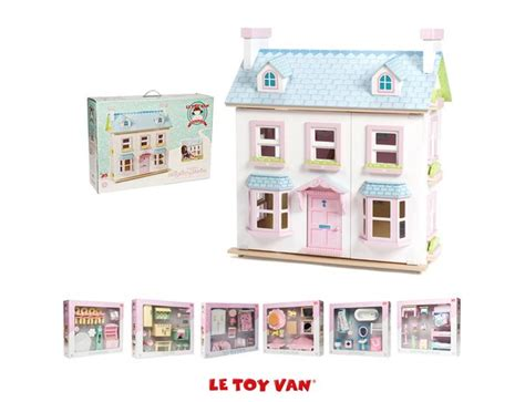 mayberry manor dolls house le toy van mayberry manor dolls house h118 163 119 99