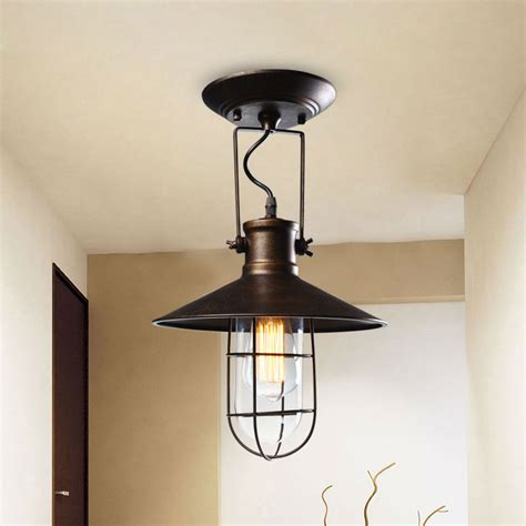 Country Style Ceiling Lights Painting L Shades Promotion Shop For Promotional Painting L Shades On Aliexpress