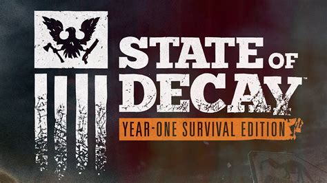 Edition Of One trainers state of decay year one survival edition