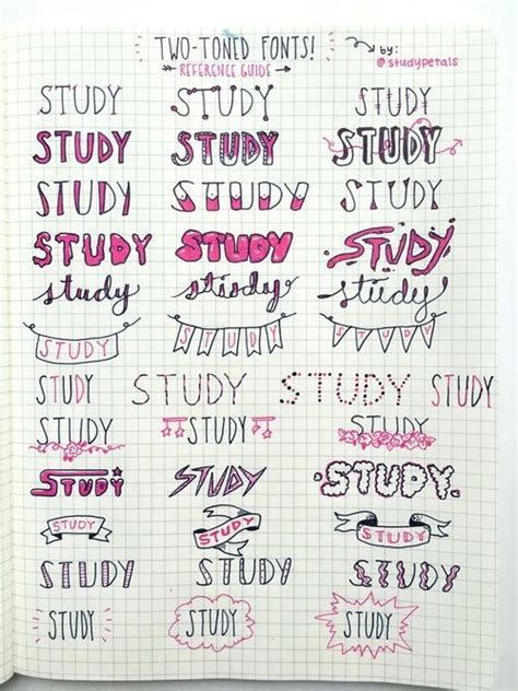 typography notes best 25 handwriting ideas on bullet designs notebook ideas and revision planner