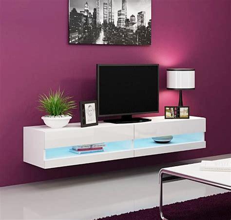 white tv stand with led lights 1 x quot vigo quot high gloss tv stand cabinet with led lights