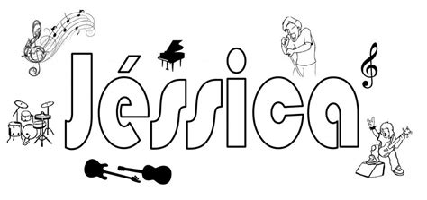 coloring pages of the name jessica free coloring pages of jessica name