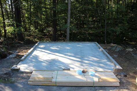 Concrete Garage Foundation by Foundation Options Custom Garages The Barn Yard Great