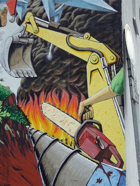 mural  frankfurt ginnheim mensch  natur stadtkind