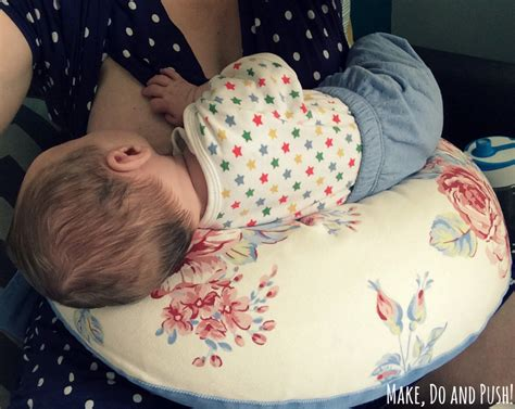 pillow for breastfeeding in bed review thrupenny bits breastfeeding pillow make do