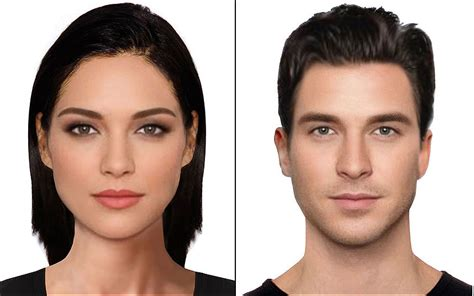 shapes of models faces are these the most beautiful faces in the world telegraph