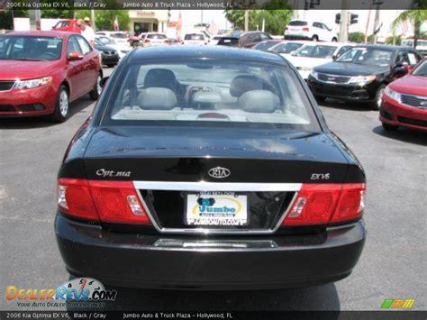 2006 Kia Optima Ex 2006 Kia Optima Ex V6 Black Gray Photo 7 Dealerrevs