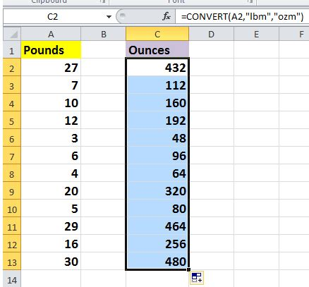 converter oz to kg how to quickly convert pounds to ounces grams kg in excel