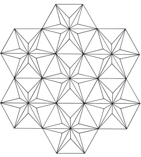 pattern explorer 3 66 3d geometric pattern coloring pages image galleries
