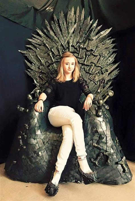 Princess Throne Chair Nixxi Rose S Game Of Thrones Iron Shoes Are Available To
