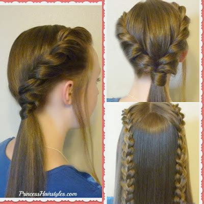 back to school ponytail hairstyles 3 easy back to school hairstyles part 2 hairstyles for
