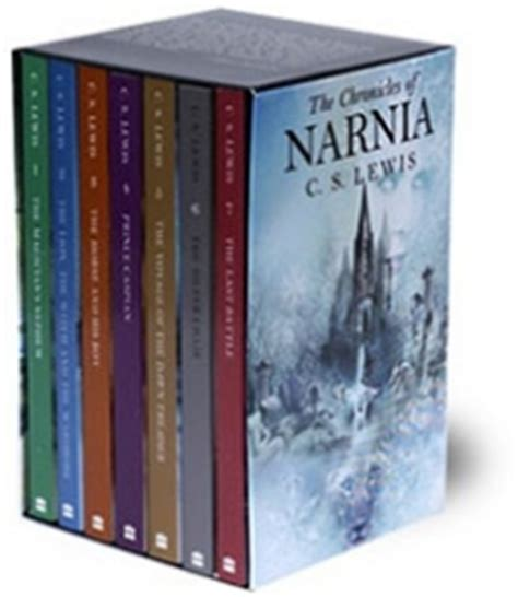 the on goal series box set books the chronicles of narnia rack box set by c s lewis