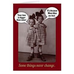 funny vintage 1920s older sister birthday card zazzle