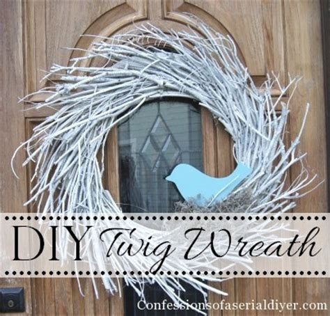 diy twig wreath new winter wreath confessions of a serial do it yourselfer