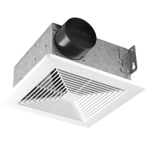 Kitchen Fan Noise Level Progress Lighting Pv001 30 50 Cfm Bath Fan With Sound