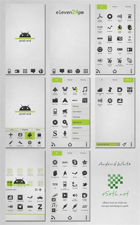 android themes white white android go launcher ex by gseth on deviantart