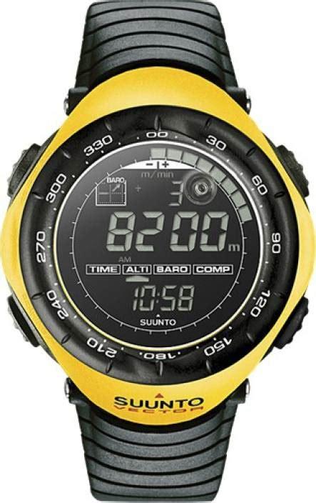 Smartwatch Suunto suunto vector black yellow smartwatch price in india buy suunto vector black yellow