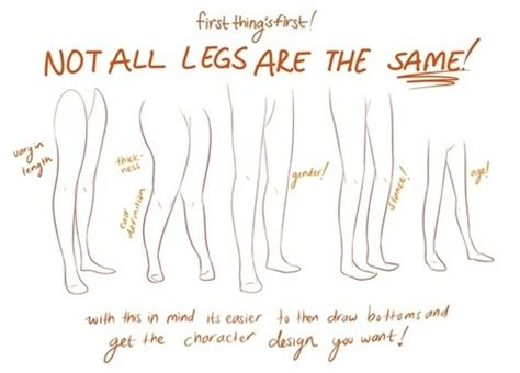 Drawing Legs by Leg Drawing Reference In Drawing References And Resources
