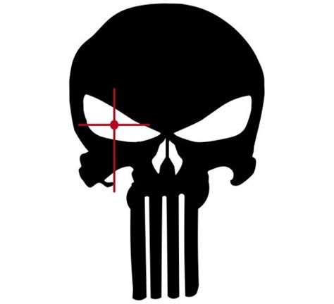 Target Wall Art Stickers skull clipart the punisher pencil and in color skull