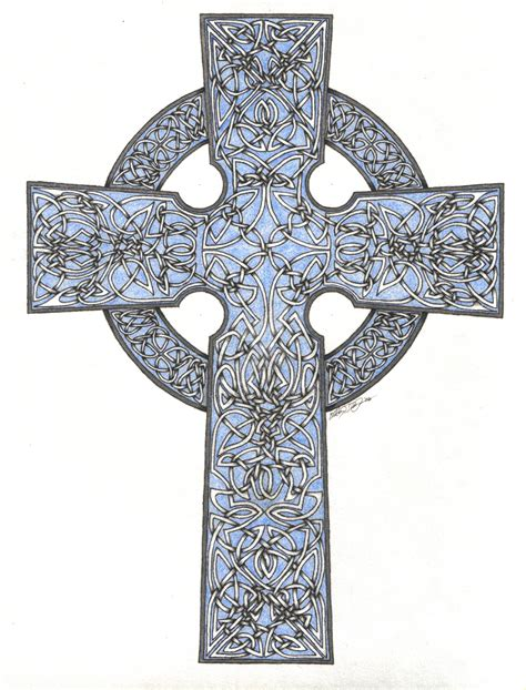 giant celtic cross by darraughbj on deviantart