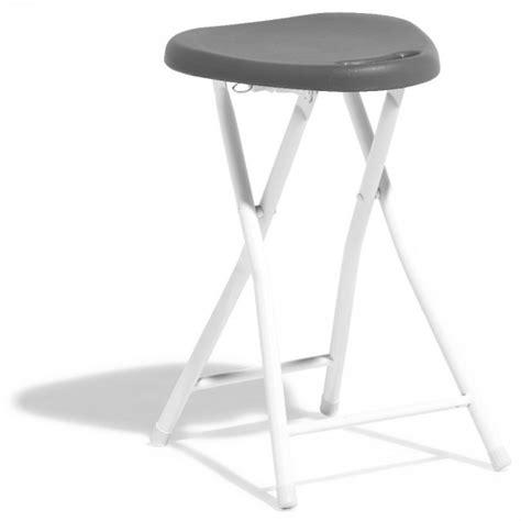 Tabouret Pliant Plastique by Tabouret Pliant Gris Anthracite Et Blanc Table