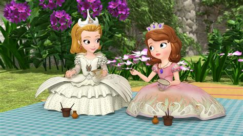 sofa the frist sofia the first the enchanted feast dvd featuring snow white