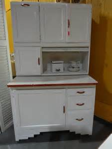 Antique Hoosier Kitchen Cabinet Antique Hoosier Cabinet And White 1941