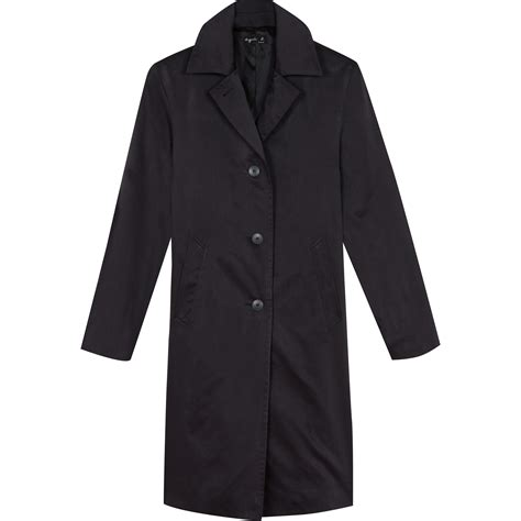 In Coat by Lyst Agn 232 S B Black Coat In Black