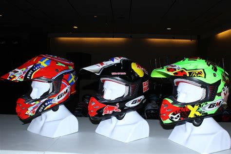 Helm Gm Supermoto helm baru nhk dan gm keren bro gilamotor