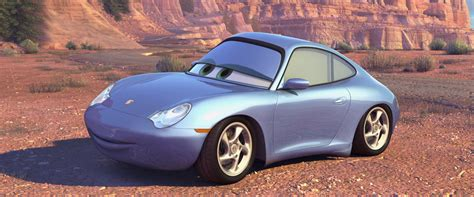 cars sally sally carrera character from cars pixar planet fr