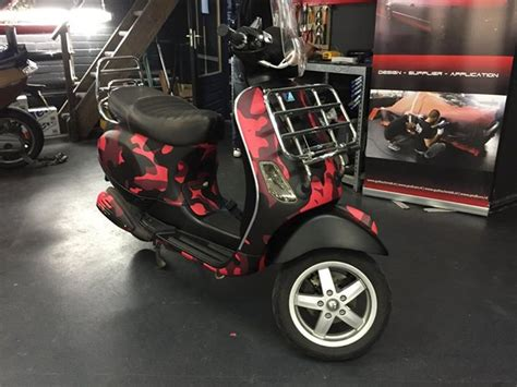 Camouflage Folie Scooter by Scooter Wrap Profcars