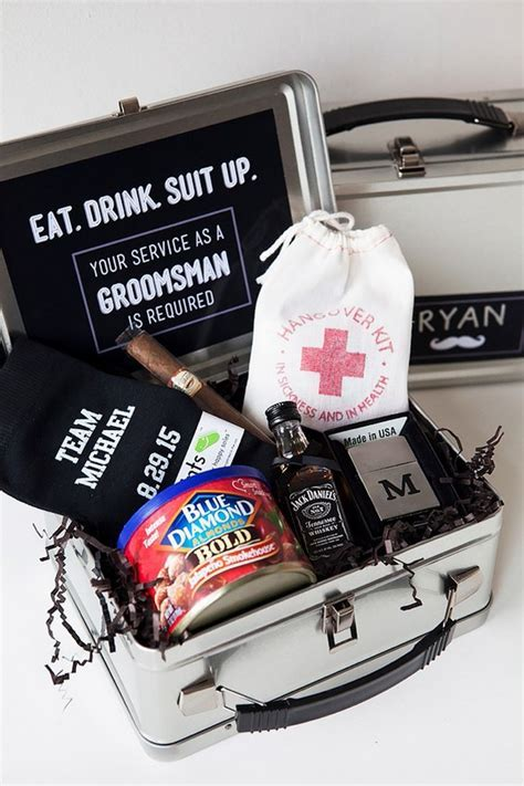 "15 Groomsmen Proposal Ideas ""Will you be my groomsmen"