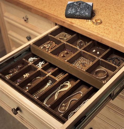 Drawers To Fit In Wardrobe Best 25 Jewelry Organizer Drawer Ideas On