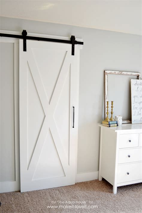 simple door super simple barn door tutorial make it and love it