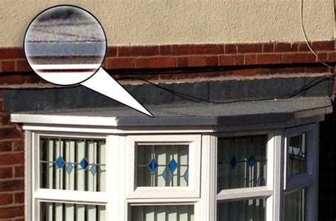 Bow Window Installation bay window roof replacement choices lead fibreglass