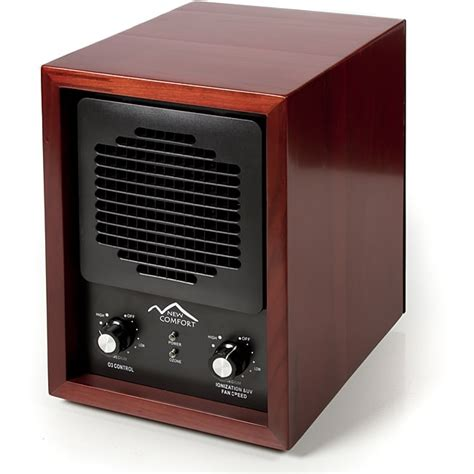 cherry wood 6 stage air purifier with hepa uv ozone ionic free shipping today overstock