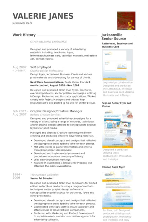Self Employed Resume samples   VisualCV resume samples