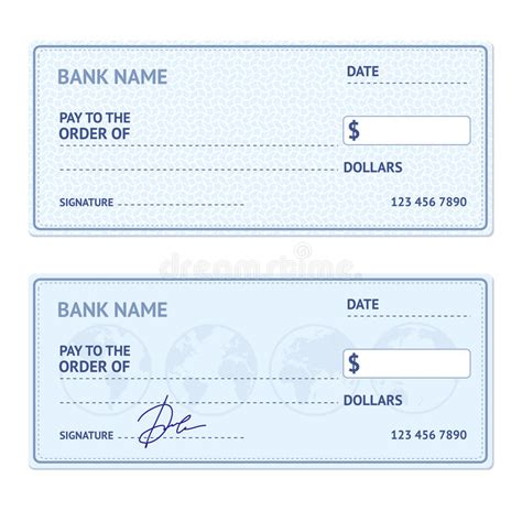 Check Template Click Blank Check Template Reference Check Template Template For Large Check Bank Check Template