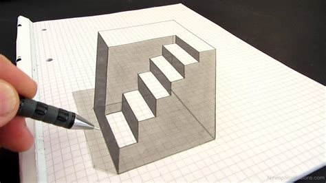 3d optical illusion l 3d chalk drawings page 8