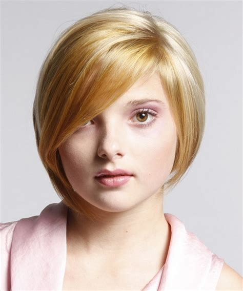 haircuts for slim faces short hairstyles for chubby faces
