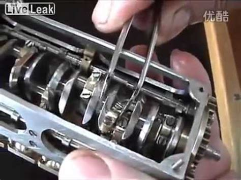 Handmade Engine - a handmade mini v12 engine